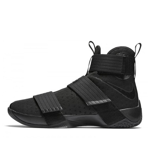 premium selection 1cfac 6f883 NIKE Lebron Soldier 10 EP X Triple Black Space. M 5b340a3a9539f78498065333